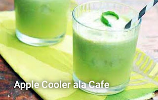 resep cara membuat Apple Cooler Ala Cafe