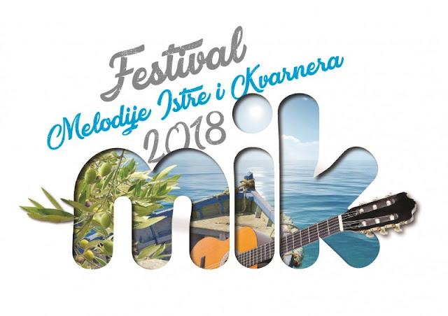 Festival MELODIJE ISTRE I KVARNERA - MIK 2018