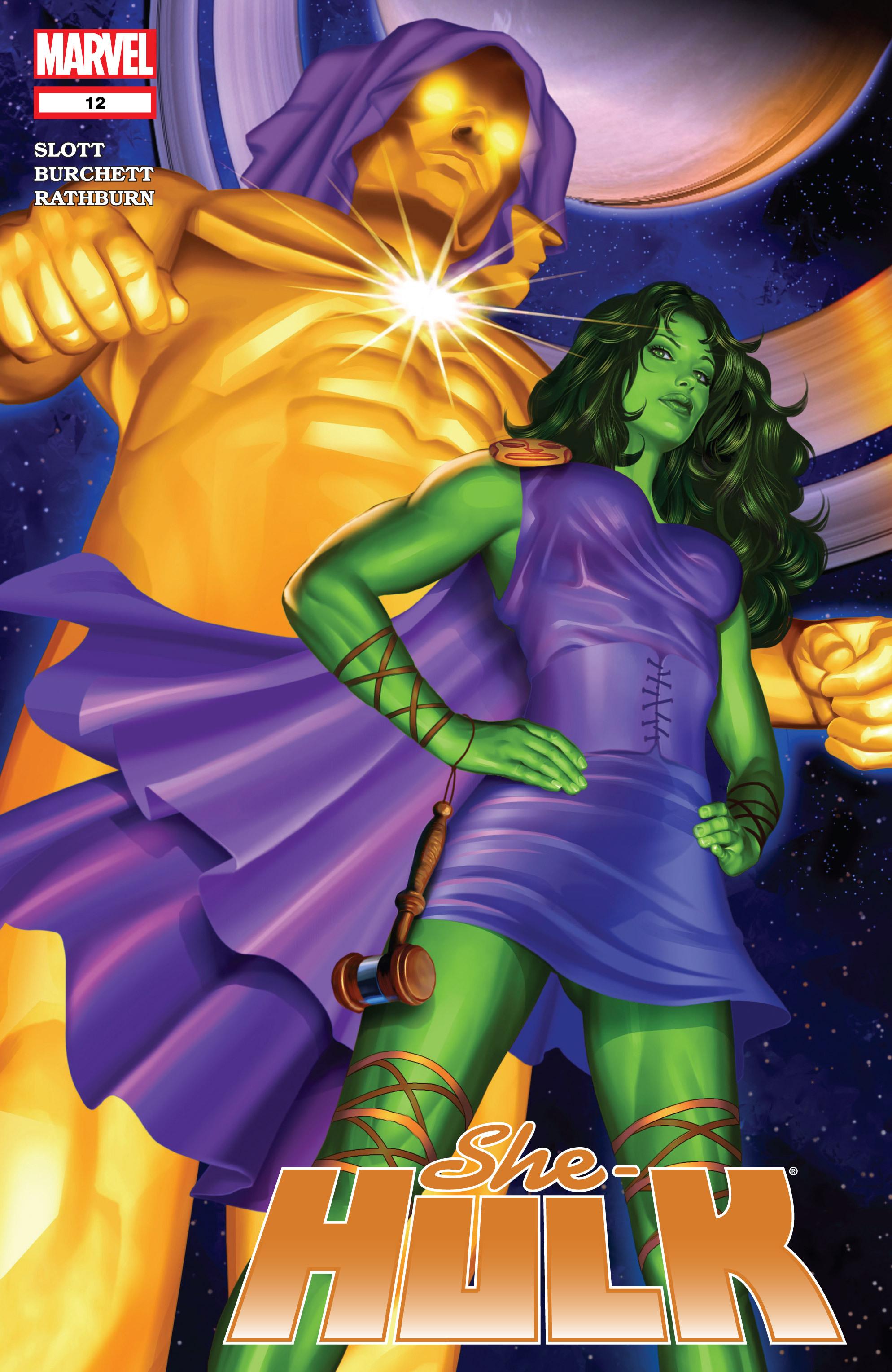 Read online She-Hulk (2005) comic -  Issue #12 - 1