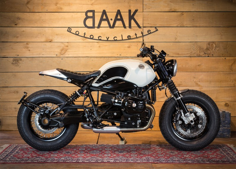 bmw ninet bobber baak motocyclettes 8negro. Black Bedroom Furniture Sets. Home Design Ideas