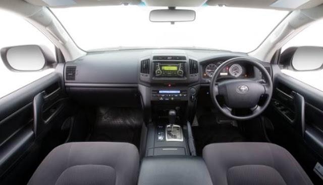 2018 Toyota Land Cruiser 200 Series