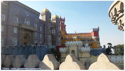 Palácio Nacional da Pena; Portugal; sem guia; Europa;