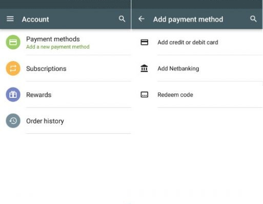 Acceptable Google Play Developer Account payment Options