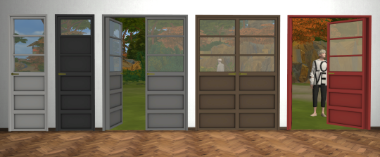 sims 4 cc's - the best: winter is coming doors and fake walls by ...