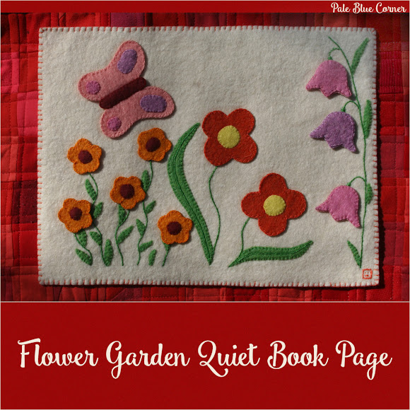 Flower Garden Quiet Book Page