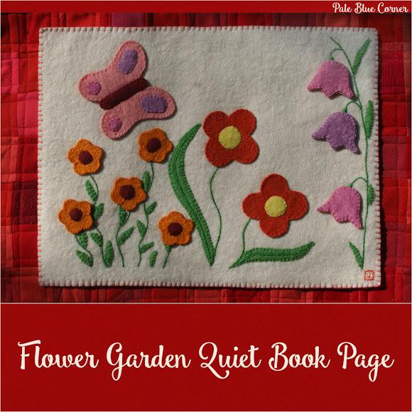 Flower Garden Quiet Book Page