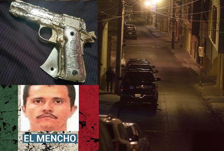 EN VIDEO: Se les 'pela' El Mencho en operativo; deja pistola con cachas de oro