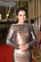 Actress Catherine Tresa in Golden Skin Tight Backless Gown at Gautam Nanda music launchi ~ Exclusive Celebrities Galleries 087.JPG