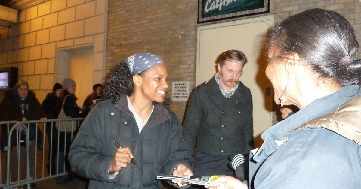 New York City Stage The Stage Door Cast Members From