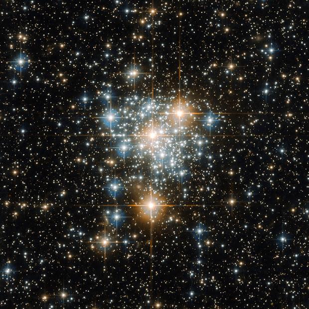 Open Cluster NGC 299