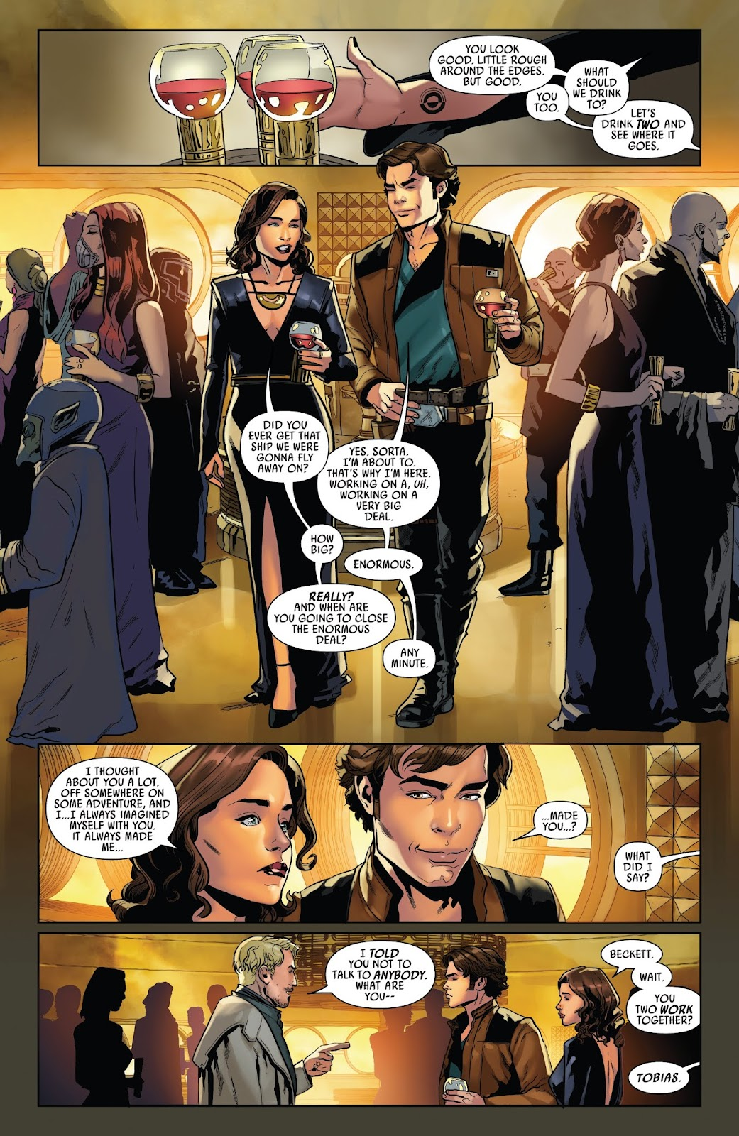 Read online Solo: A Star Wars Story Adaptation comic -  Issue #3 - 5