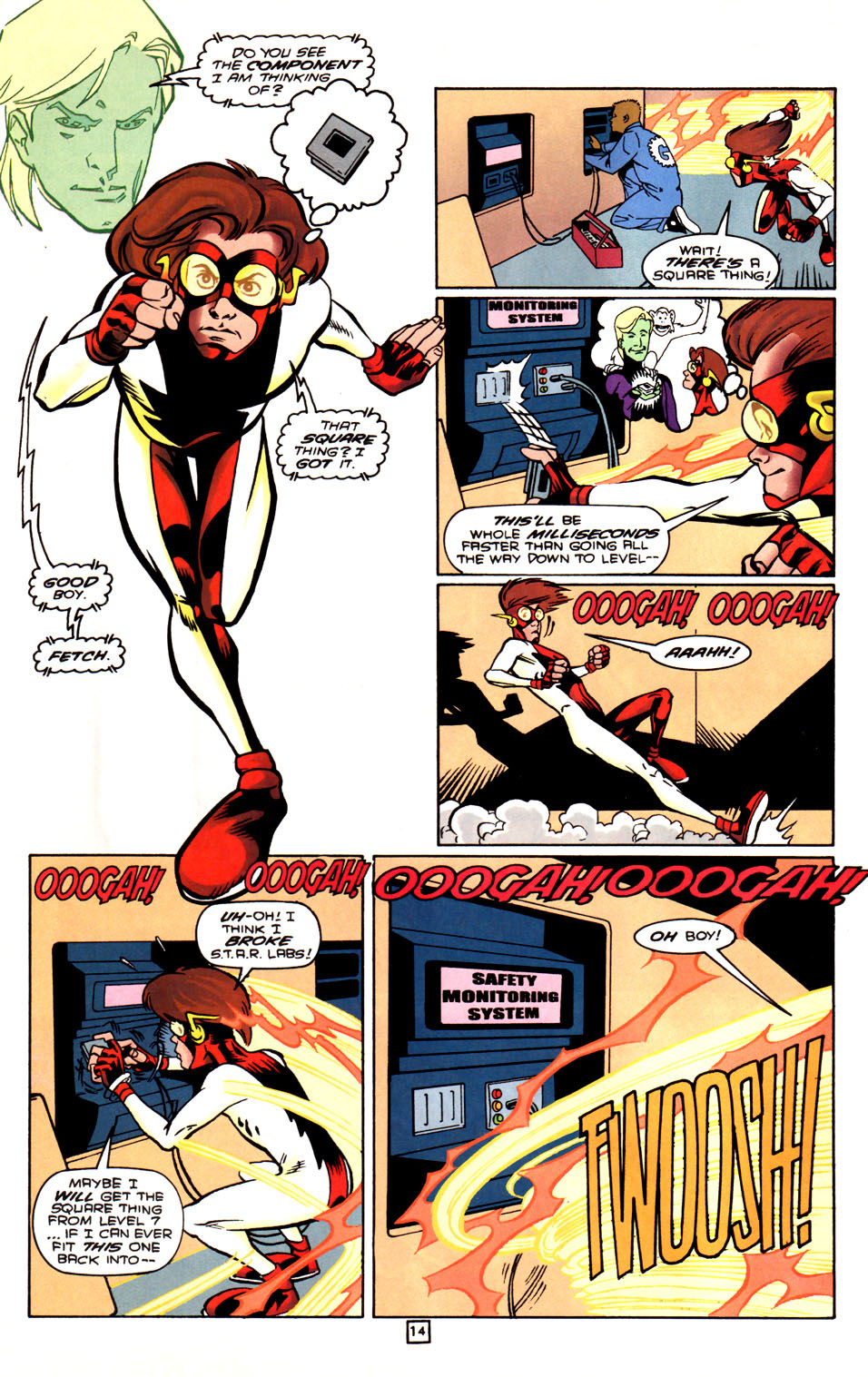 Legion of Super-Heroes (1989) 88 Page 14