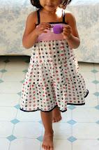 Little Girls Summer Dress Sewing Patterns