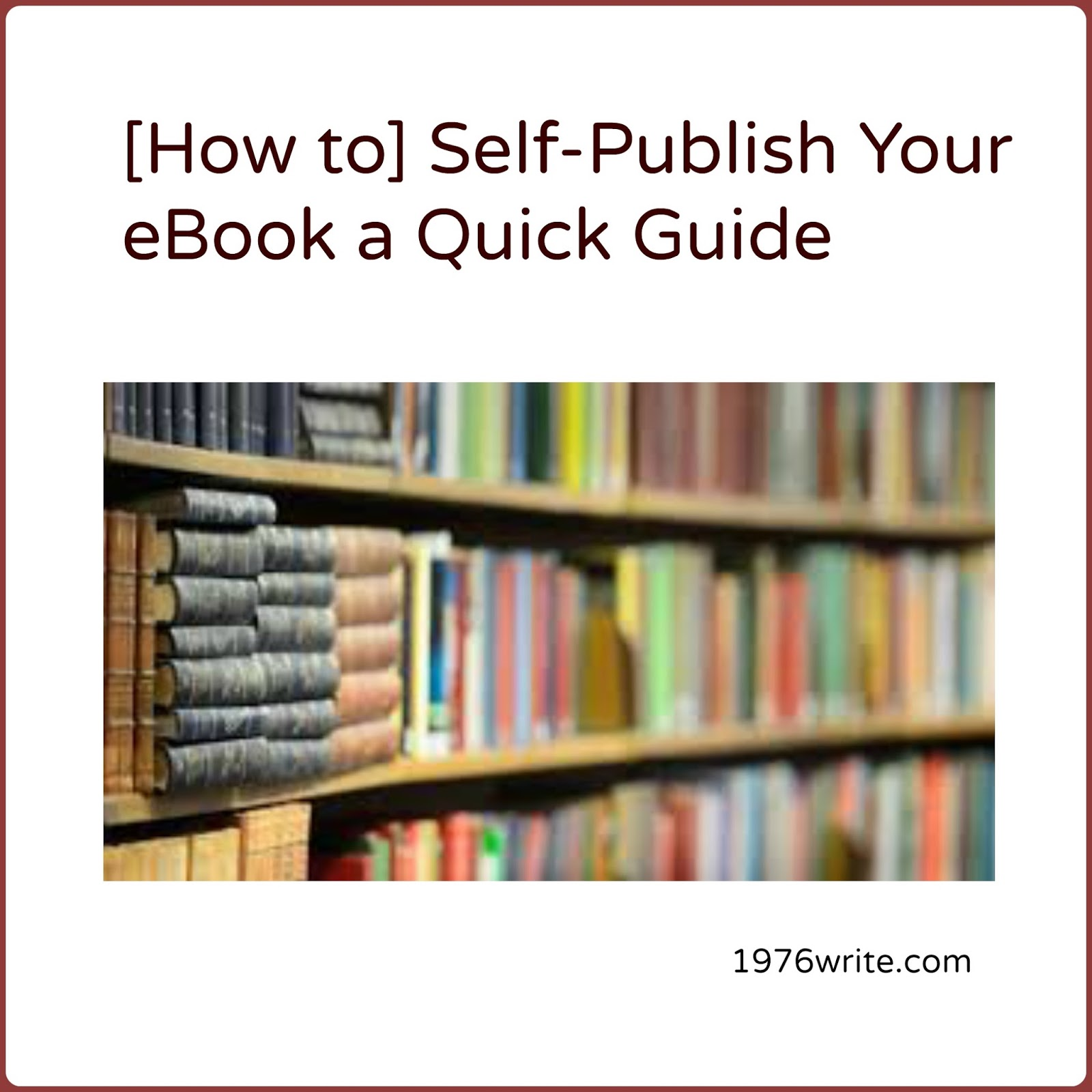 self publish ebook Ebook formatting generally costs less than a hundred dollars or  feel free to browse through our blog also for more tips on how to self-publish a book.