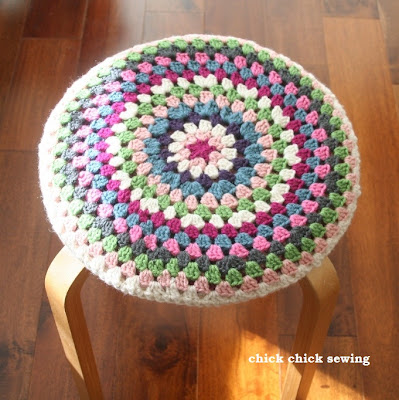 Round Crochet Chair Pads Only New Crochet Patterns