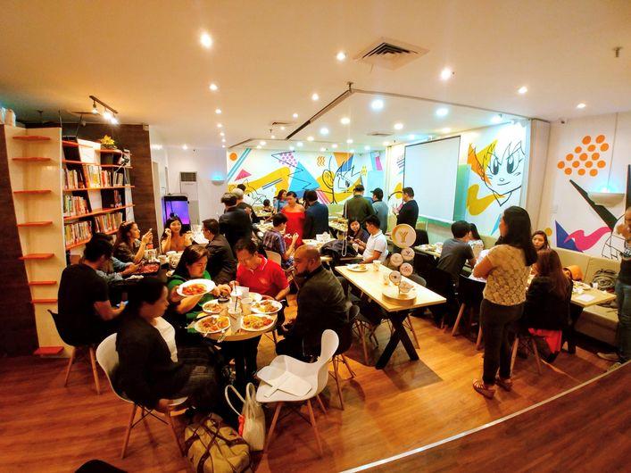 Y Café conference room
