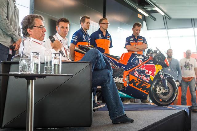 berita motogp Siapkan 423 Milyar, KTM : Kami datang untuk menang, bukan hanya dibelakang