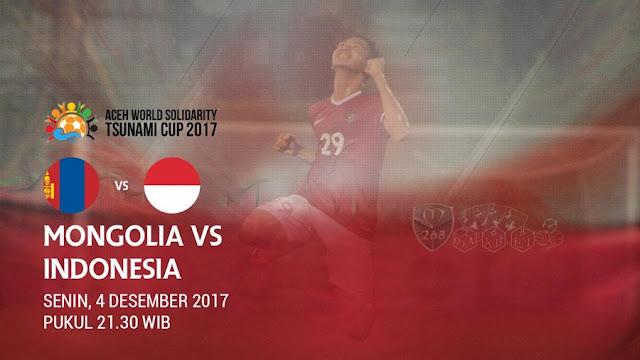 Prediksi Bola : Mongolia Vs Indonesia , Senin 04 Desember 2017 Pukul 21.30 WIB @ RCTI