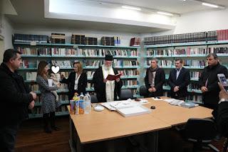 Κοπή πίτας και απολογισμός της Δημόσιας Βιβλιοθήκης Καλαμάτας