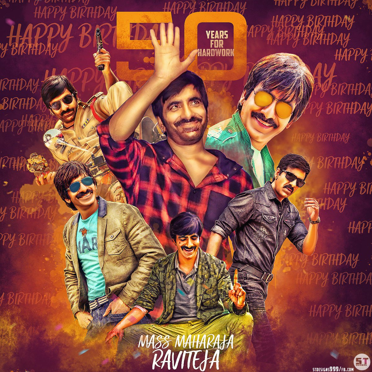 Age is just a number for Ravi Teja, the actor turns 50