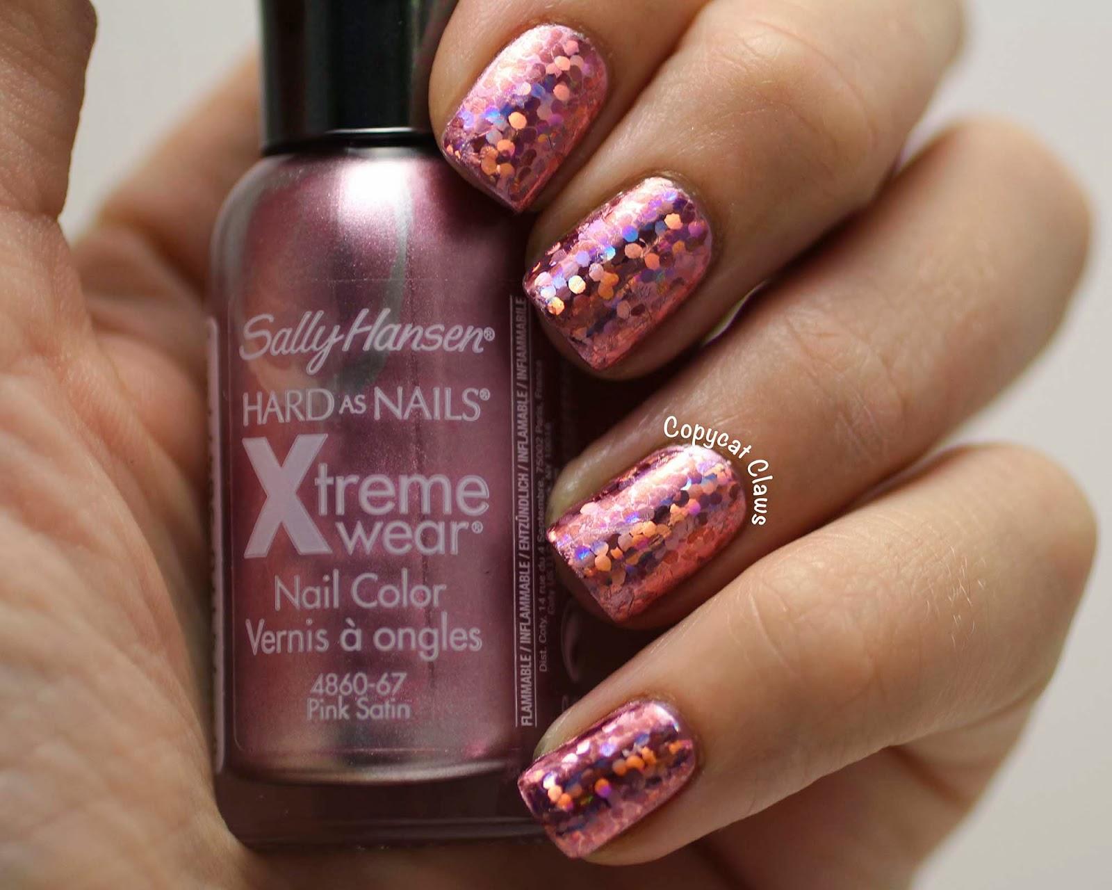 Copycat Claws: Pink Shiny Nail Foils