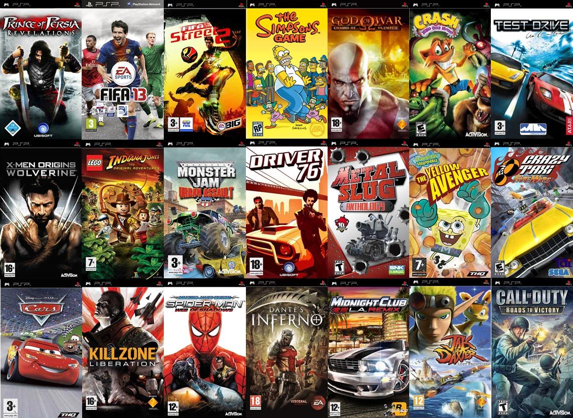 Super Pack De Juegos Para Psp 2013