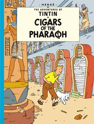 Download free ebook Cigars Of Pharaoh Tintin Comics pdf