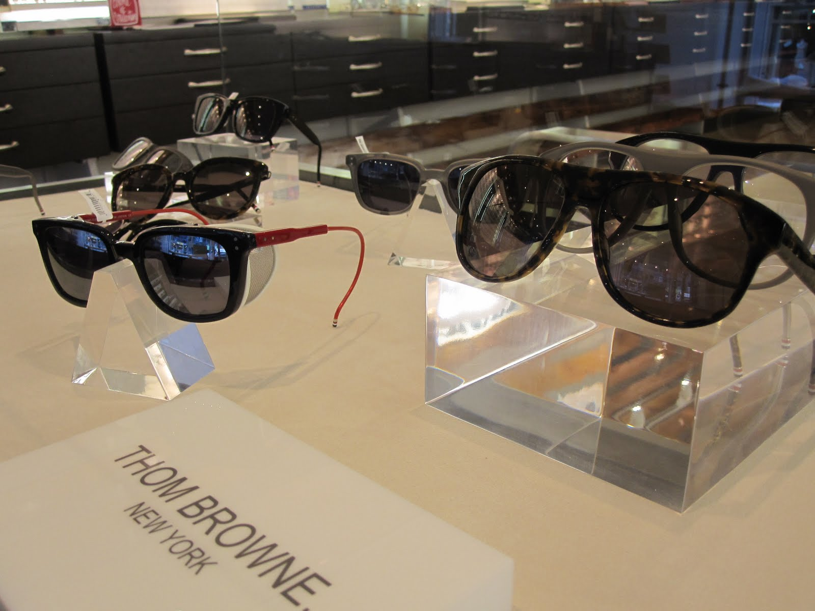 b9051ceca1460 Bold and distinct with a definite NYC feel to them the Thom Browne x Dita  collection can only be seen in Toronto at our West Queen West flagship at  the ...