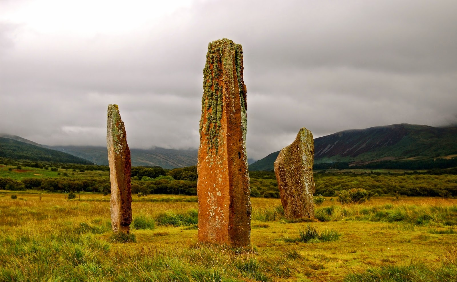 Machrie Moor stone circle; Isle of Arran, Scotland