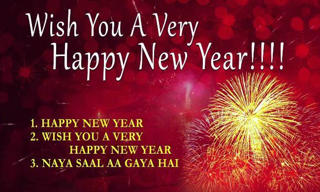 wish you a happy new year and prosperous