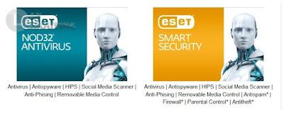 Perbedaan ESET NOD32 AntiVirus Vs ESET Smart Security
