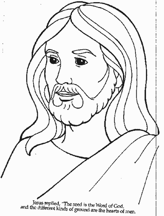 savior coloring pages - photo#25
