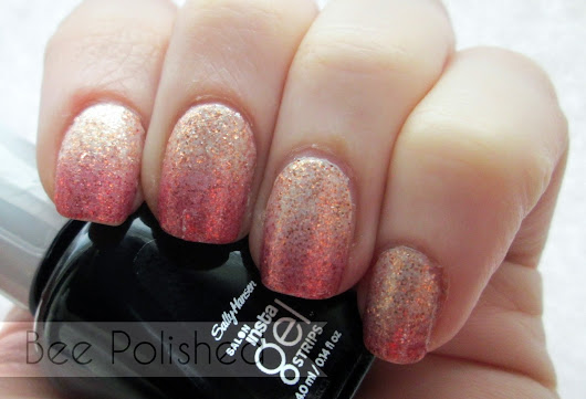 Sally Hansen gradient nail strips... - Bee Polished