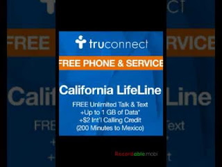 truconnect free government phones