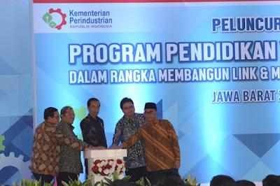 Presiden Hadiri Peluncuran Program Vokasi Industri Untuk SMK