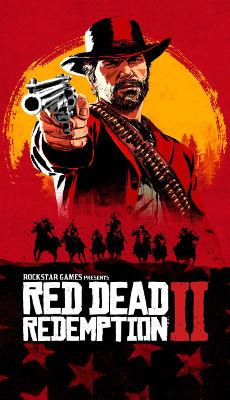Red Dead Redemption 2 Affiche - Fond d'Écran en QHD pour Mobile