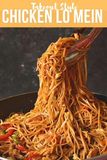 Best takeout style  Chicken Lo Mein