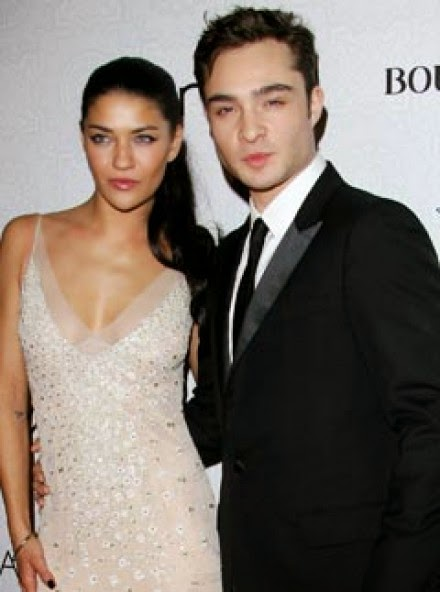 ed westwick and jessica szohr relationship