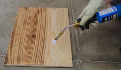 Creating a Decorative Wood Burning Finish