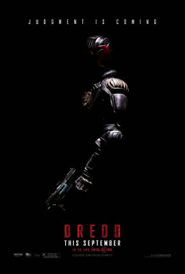 DREDD 2012 MOVIE POSTER
