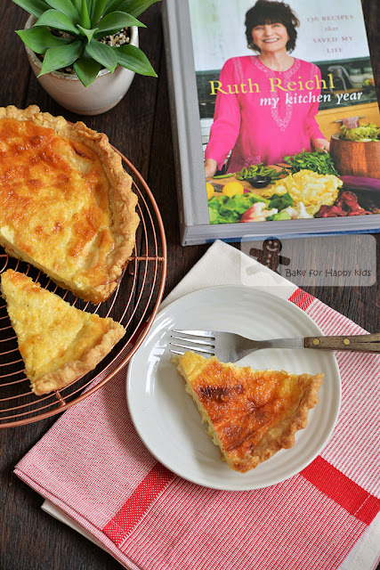 custard in a crust basic quiche Ruth Reichl