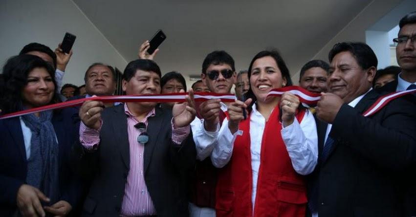Inauguran nueva infraestructura del colegio N° 22333 Juan José Salas Bernales, en la región Ica