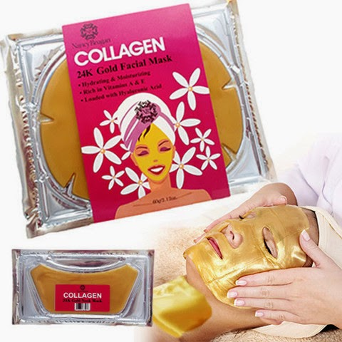 Nancy Reagan 24k Collagen Face and Neck Mask Combo Giveaway #Skincare Ends 10/7 via www.Productreviewmom.com