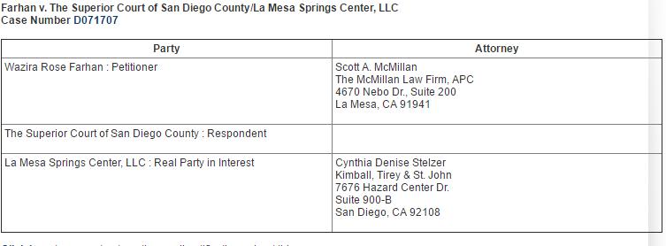 Scott McMillan La Mesa Attorney a Vexatious Litigant | Scott