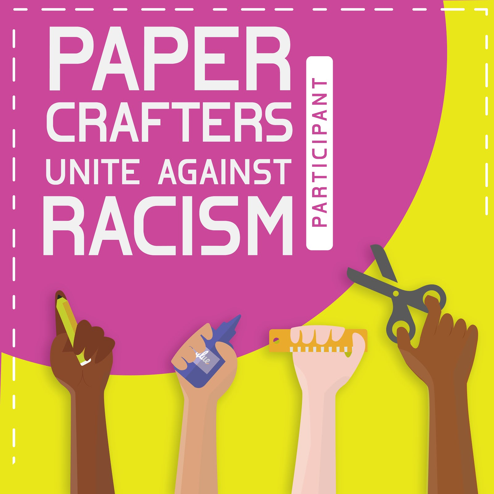 Paper Crafters Unite Against Racism Blog Hop
