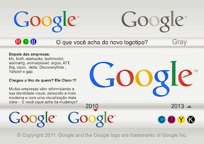 Baixe o Novo Logo do Google em CorelDraw