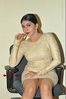 Actress Pooja Roshan Stills in Golden Short Dress at Box Movie Audio Launch  0071.JPG