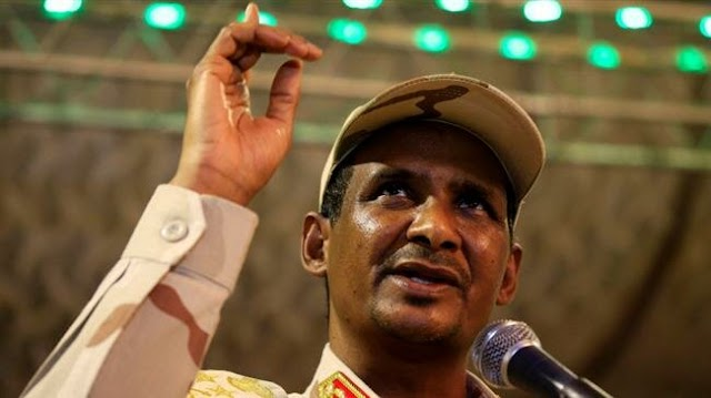 Sudan military wants to hand over power to a democratically-elected government quickly: Sudanese General Mohamed Hamdan Dagalo