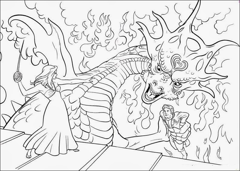 Fun Coloring Pages: Enchanted Coloring Pages