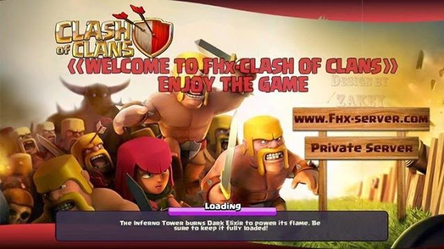 Clash Of Clans King Private Server